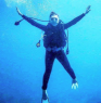 My passion, scuba diving.
