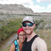 Ben and Beth at Dinosaur Provincial Park