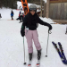 Fist time skiing