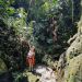 Playing in waterfalls in Columbia :)