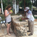 Making Mayan bowls in the Yucatán