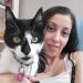 My first cat client as petsitter, Jolie