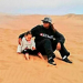 Me in Namibia on the dunes with my little cuson