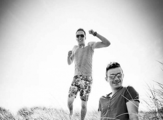 Murlough Beach shoot for Cancer.