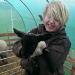Me helping out with the lambs at a friends small holding