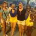 Agnes , samba dancers and my wife Bettina :)