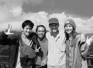 With Zaky (vietnam) Hams & Hanna (uk) at Tanah Toraja