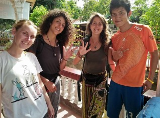 Poland, italy, portugal & vietnam in my place, my friend of Darmasiswa student