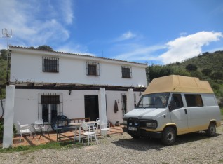 Our volunteer accommodation at the villa